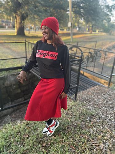 🔥 Forgiven/Black & Red Bold Statement🔥