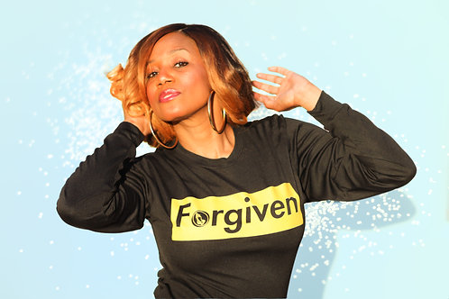 🔥 Forgiven/Black Gold Bold Statement🔥