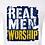 Thumbnail: Real Men Worship T-Shirt