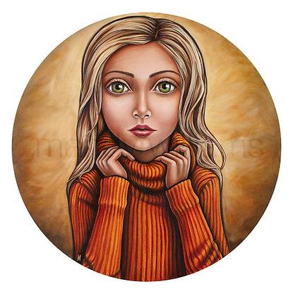 'Golden Girl' Original Artwork