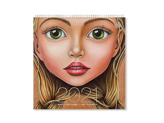 Mandy Williams 2021 Art Planner