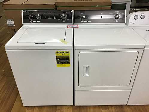 Speed Queen Washer/Dryer Set