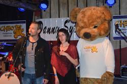 Danny, Marychelle & CHEO Bear