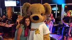 Marychelle and CHEO Bear