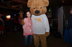 Marychelle & CHEO Bear