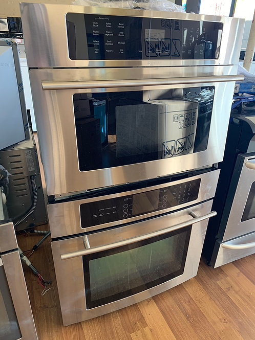 JENN-AIR WALL OVEN AND MICROWAVE