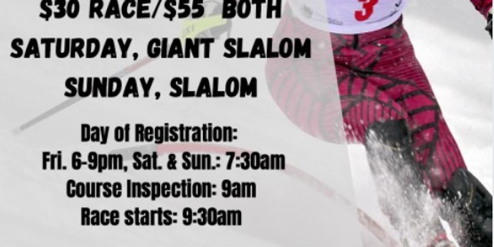 WV Governor's Cup Alpine Ski Race (Giant Slalom)