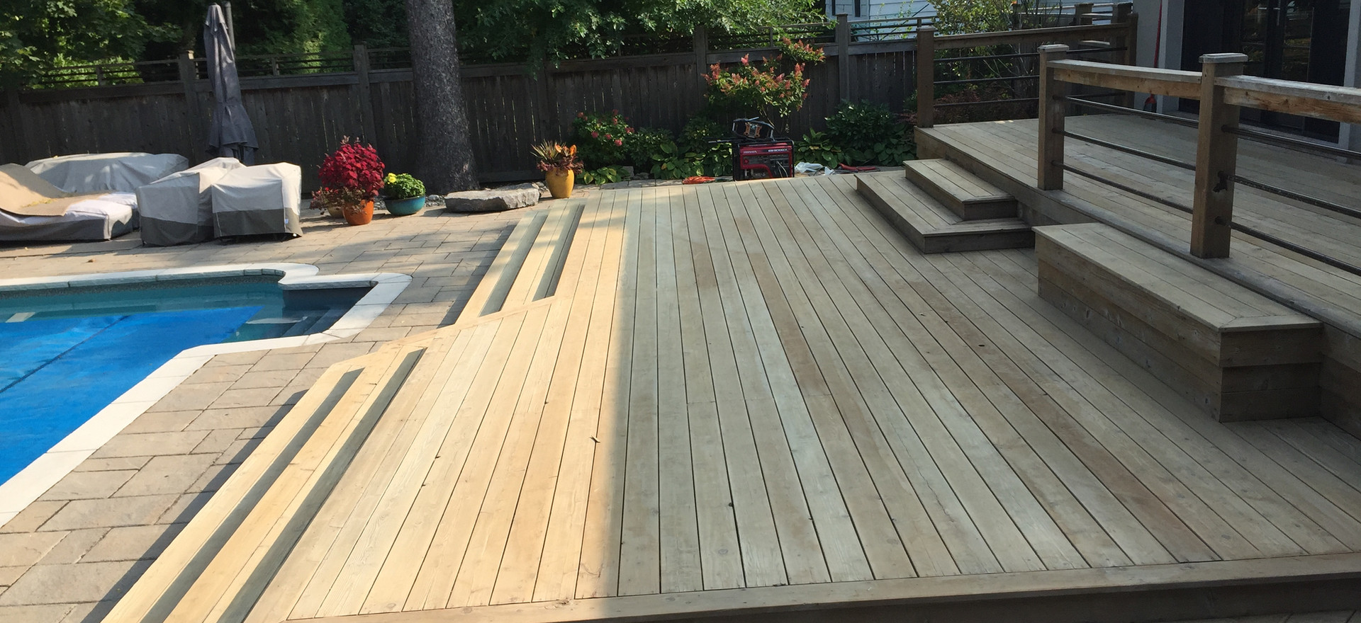 Photo of Sanded Deck