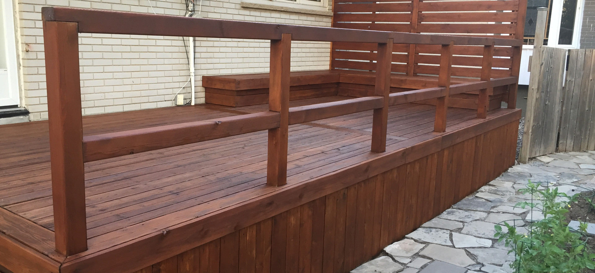 Restored Weathered  Deck - Champagne