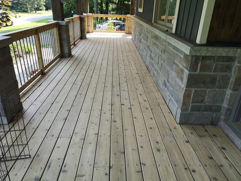 sanded front deck boards of Jim.jpg