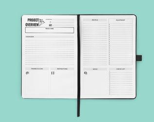 Cinematic Journal Design