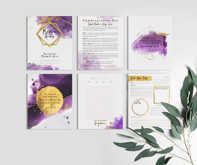 Affirmation Journal Design