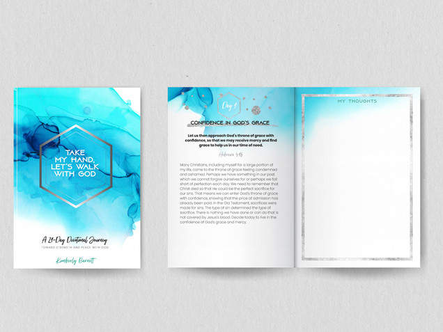 Spiritual Journal Planner Cover Layout D