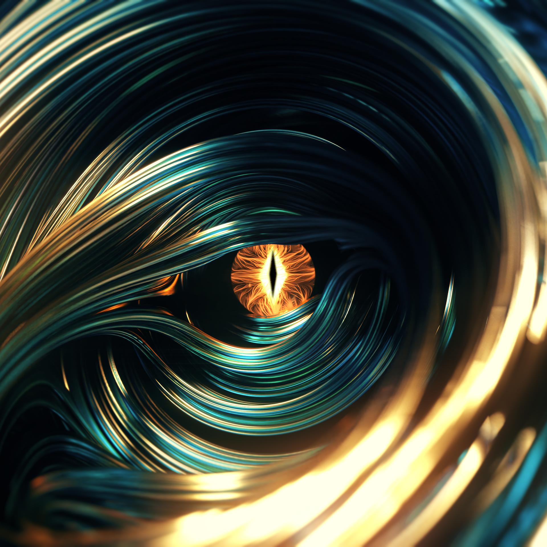 Fractal Dragon Eye 4K .png