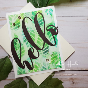 Many ways to use stencils!