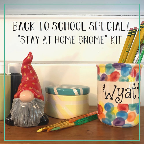 """stay Gnome"" Back to School Kit"
