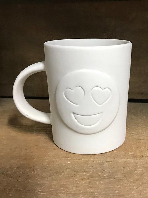 Heart Smile Emoji Mug