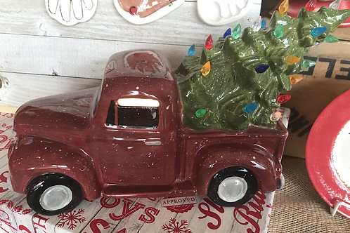 Christmas Tree Truck with electric Light kit
