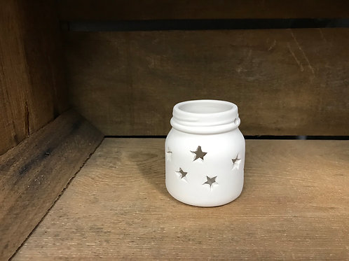 Small Star Jar Votive