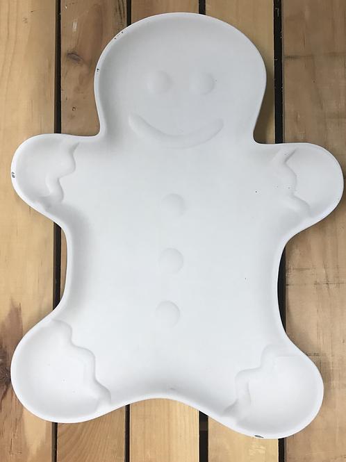 Gingerbead Cookie Plate