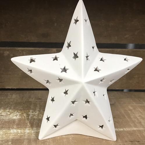 Star Lantern with Tea Light