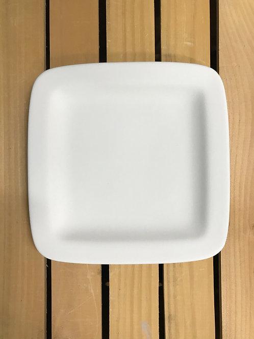 Square Rimmed-salad Plate