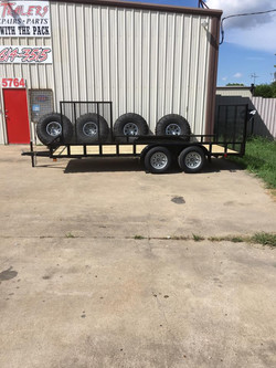 Wolf Trailers, terrell trailers