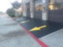 andersonpressurewashing, parking lot striping