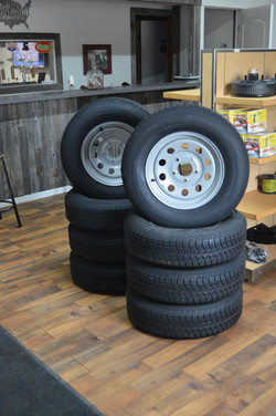 Wolf Trailers, Accessories, tires