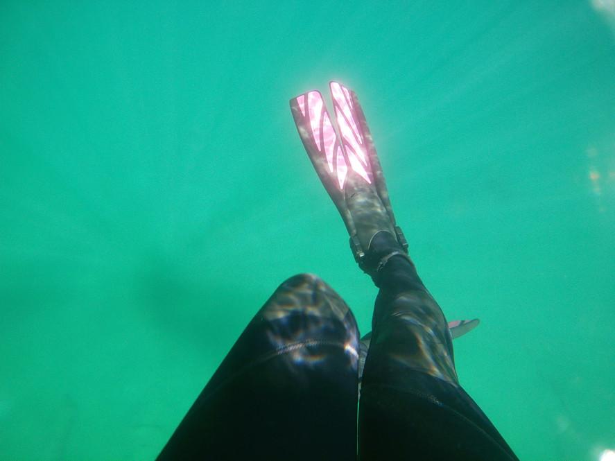 Love my fins in the sunlight