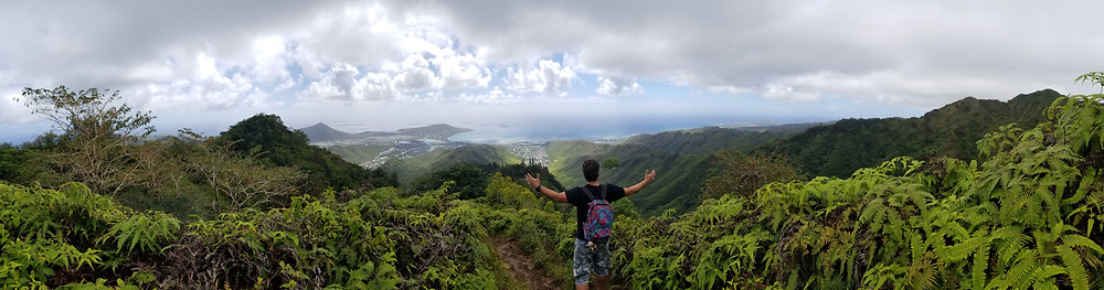 Hawaii, hiking, mountain view, hawaii hiking, oahu,