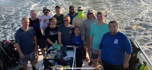Bubbles or Not group at Merrills Inlet, SC