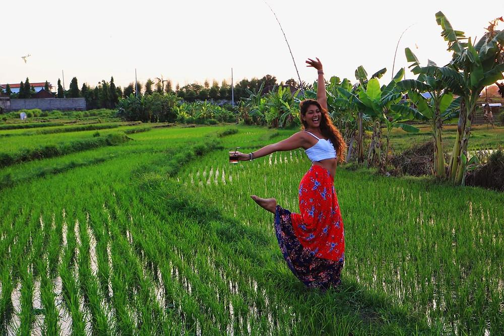rice terraces, bali rice field, bali, wanderprenuer, adventure, gypsy