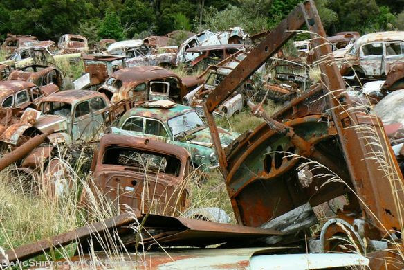 junkyards, environmental impacts, eco-friendly lifestyle, eco travel, recycle, reuse, ecoprenuer, chemical waste, storm water pollution, soil contamination, auto recycling, salvage yard, old cars