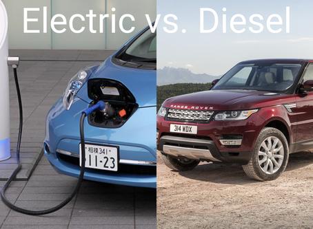 Electric vs. Diesel Cars