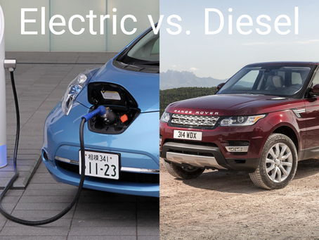 Electric vs. Diesel Cars