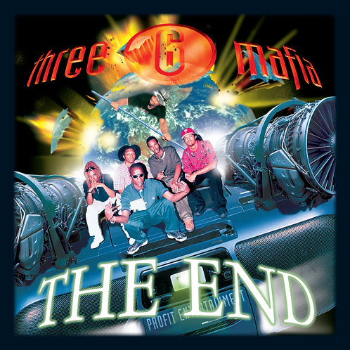 Three 6 Mafia, The End, Album Cover