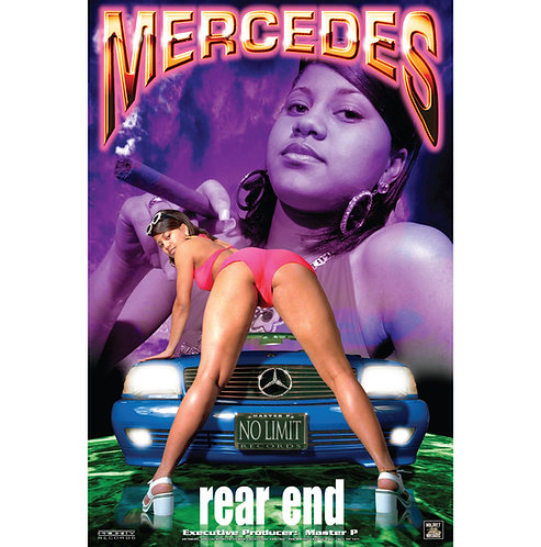 "Mercedes, Rear End, 24"" x 36"" Poster"