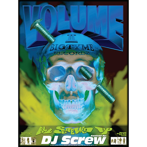 "DJ Screw Volume 2,  All Screwed Up, 18"" x 24"" Poster"