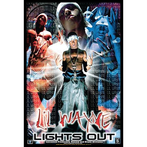 "Lil Wayne, Lights Out,  24"" x 36"" Poster"