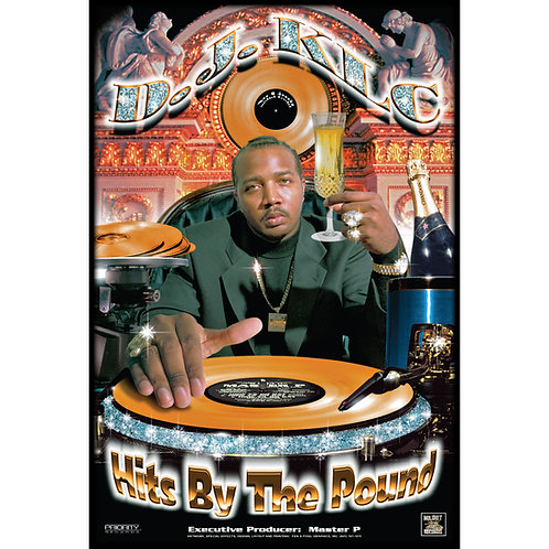 """D.J. KLC, Hits By The Pound, 24"""" x 36"""" Poster"""