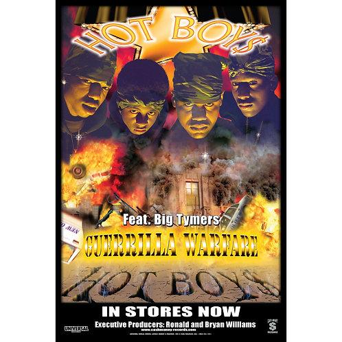 """Hot Boys, Guerrilla Warfare,  24"""" x 36"""" Poster"""
