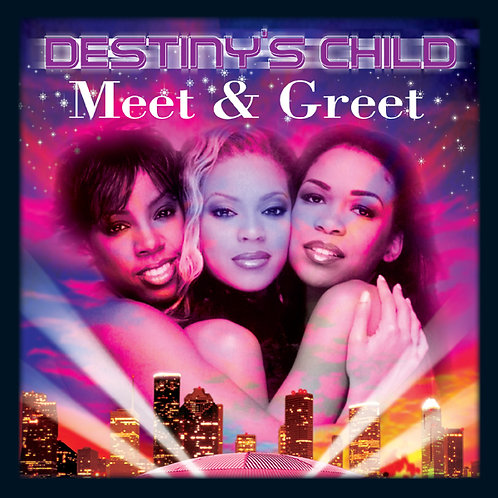 Destiny's Child, Meet & Greet, Album Cover
