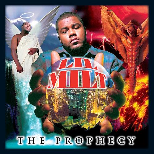 Lil Milt, The Prophecy, Album Cover
