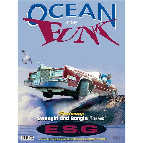 "E.S.G., Ocean of Funk, 18"" x 24"" Poster"