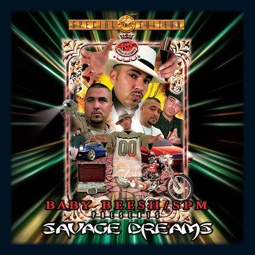 Baby Beesh, Savage Dreams, Album Cover