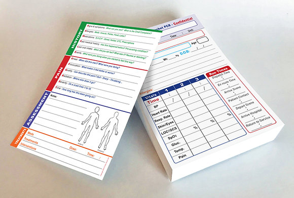 Refill - 100 Pack - Complete self-guided PCR - No clipboard