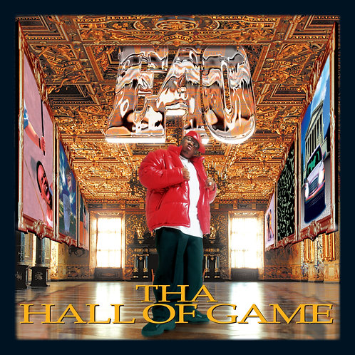 E40, Tha Hall of Game, Album Cover