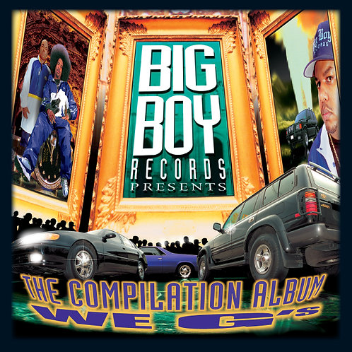 Big Boy Records Presents, We G's, Album Cover