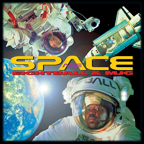 Eightball and MJG, Space Age, Album Cover
